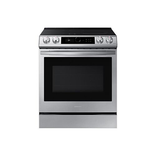 6.3 cu. ft. Slide-In Induction Range with True Convection Oven and Air Fry in Stainless Steel