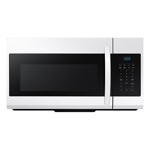 1.7 cu. ft. Over the Range Microwave in White