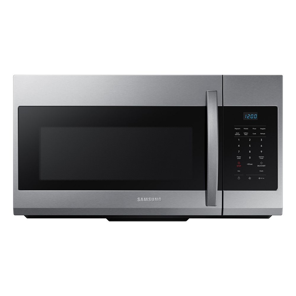 Samsung 1.7 cu. ft. Over the Range Microwave in Fingerprint Resistant Stainless Steel