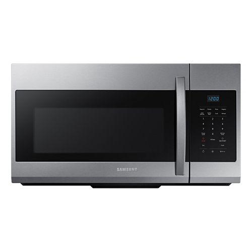 1.7 cu. ft. Over the Range Microwave in Fingerprint Resistant Stainless Steel