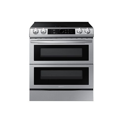 6.3 cu. ft. Double Oven Slide-In Induction Range with True Convection and Air Fry in Stainless Steel