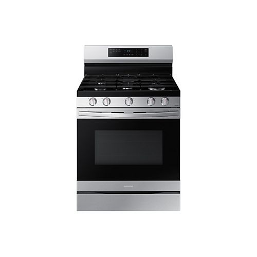 6.0 cu. ft. Freestanding Gas Range with Fan Convection and Air Fry in Fingerprint Resistant Stainless Steel