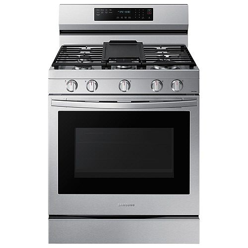 6.0 cu. ft. Freestanding Gas Range with True Convection Oven and Air Fry in Fingerprint Resistant Stainless Steel