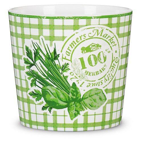 "Les Entreprises Marsolais Ceramic Kitchen Herb Planter 5.5"""