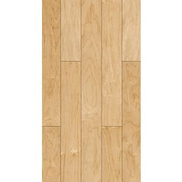 Smooth Natural 5-inch x 47-1/4-inch Varying Length Engineered Maple SPC Flooring (16.40 sq.ft./case)