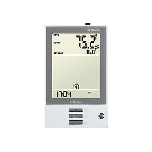 7-Day Programmable Thermostat w/Floor Sensor