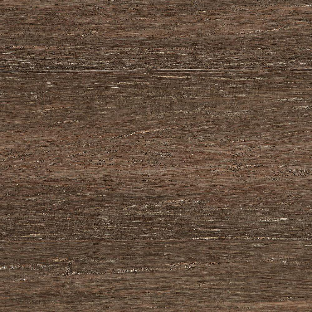 Home Decorators Collection Handscraped Strand Woven Pecan 1/2 in. T x 7-1/2 in. W x 72-7/8 in. L Engineered Bamboo Flooring