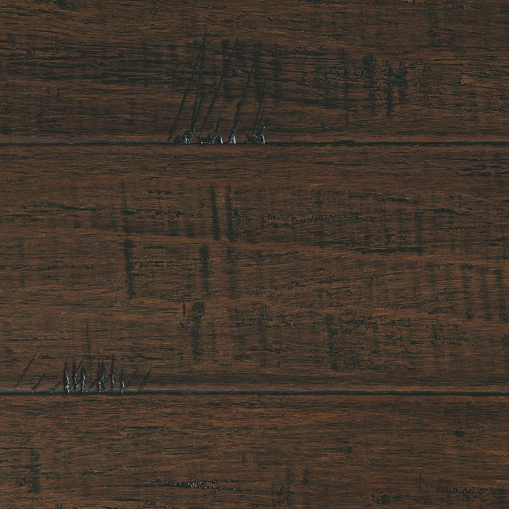 Home Decorators Collection Handscraped Strand Woven Wellington 1/2 in T x 7-1/2 in. W x 72-7/8 in. L Engineered Bamboo Flooring