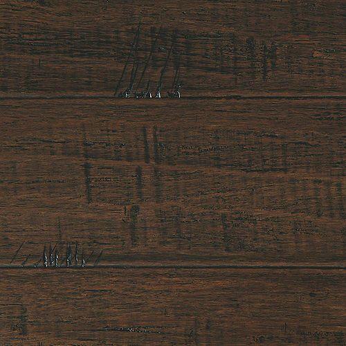 Plancher d'ingénierie Bambou en fils tressés Wellington, Ép 1/2 po. x l 7-1/2 po. x L 72-7/8 po.