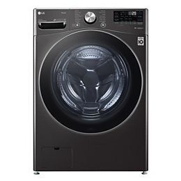 5.2 cu.ft. Smart Front Load Washer with Artificial Intelligence and Wi-Fi in Black