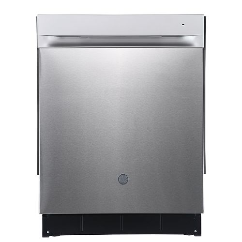 24-inch Built-In Top Control Dishwasher with Stainless Steel Tall - Stainless Steel