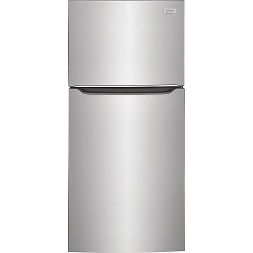 Réfrigérateur à congélateur supérieur de 30 po de large et de 20 pi3 Réfrigérateur à congélateur supérieur de 30 po de largeur, 20 pi3, en acier inoxydable Smudge-ProofMD - ENERGY STAR®