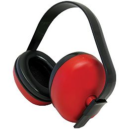 Coquille Anti-Bruit WorkHorse Rouge, NRR 23