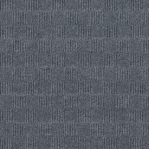 City Block N66 Sky Grey 24-inch x 24-inch Carpet Tiles (15 Tiles / Case)