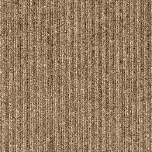Foss Floors High Low N29 Chestnut 24-inch x 24-inch Carpet Tiles (15 Tiles / Case)