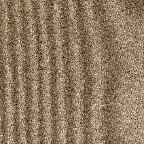 Rib N29 Chestnut 18-inch x 18-inch Carpet Tiles (16 Tiles / Case)