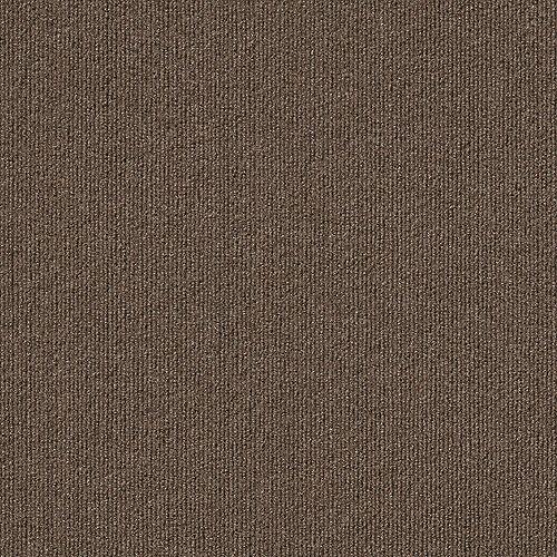 Rib N49 Espresso 18-inch x 18-inch Carpet Tiles (16 Tiles / Case)