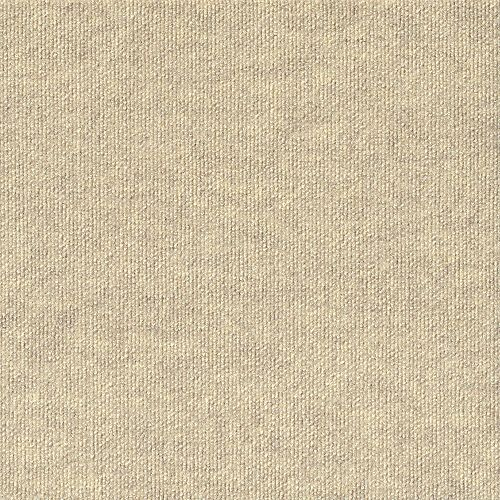 Rib N59 Ivory 18-inch x 18-inch Carpet Tiles (16 Tiles / Case)