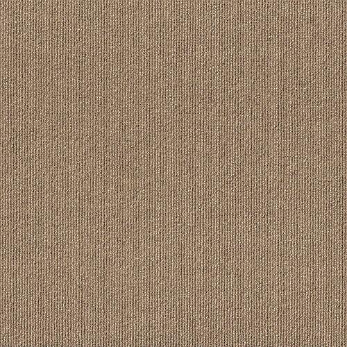 Rib N40 Taupe 18-inch x 18-inch Carpet Tiles (16 Tiles / Case)