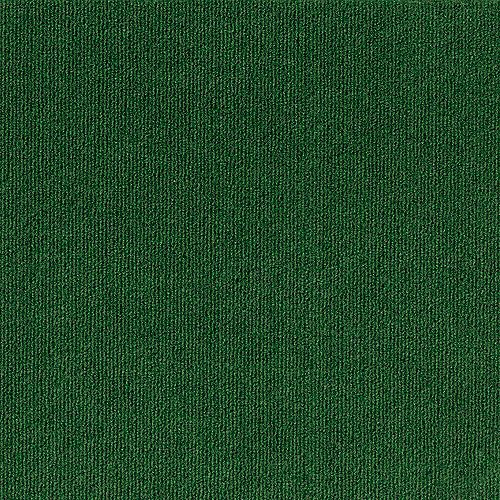 Rib N11 Heather Green 18-inch x 18-inch Carpet Tiles (16 Tiles / Case)