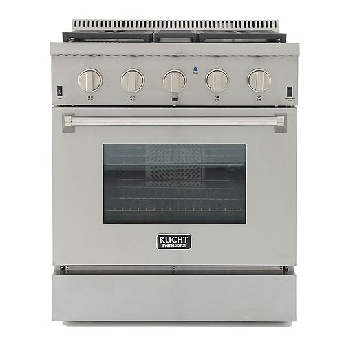 Kucht Professional 30-in 4.2 cu. ft. Dual Fuel Range for Natural Gas