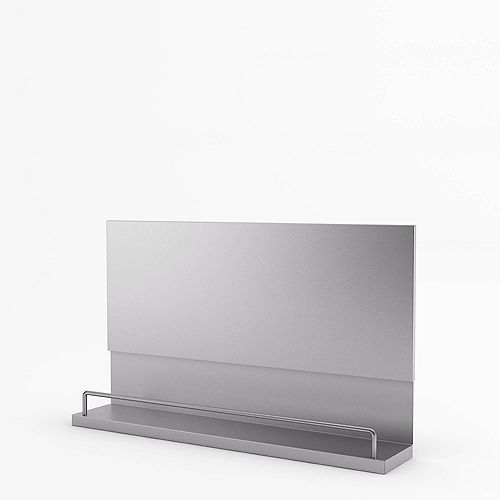 Mercury 30-inch Real Stainless Steel Backsplash