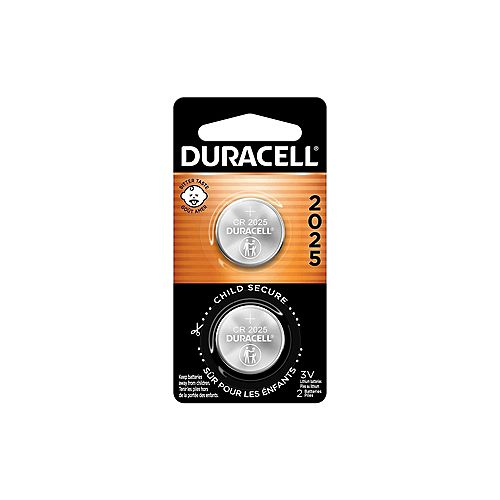 Lithium Coin 2025 Batteries 2 count