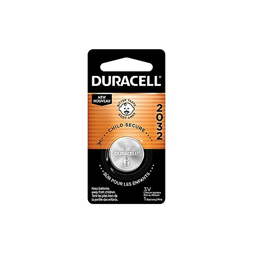 Lithium Coin 2032 Batteries 1 count