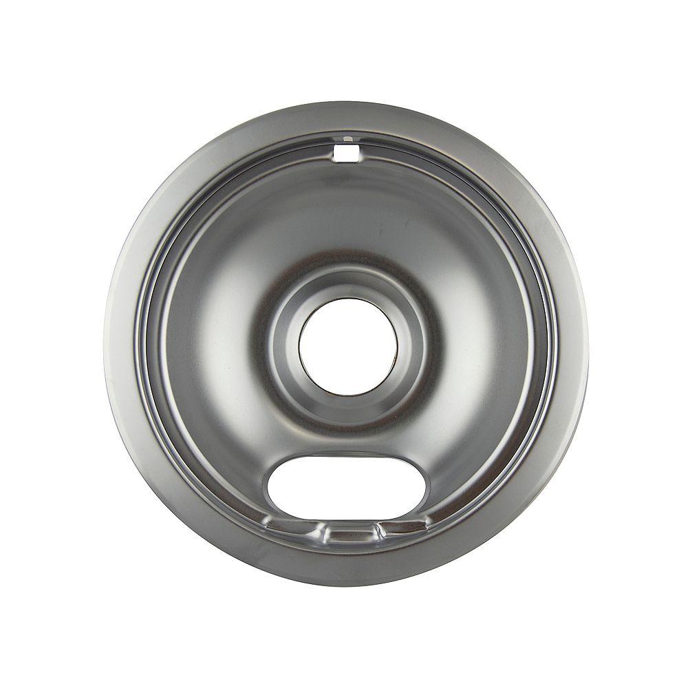 "Range Kleen 6""/Sm Chrome Drip Bowl"