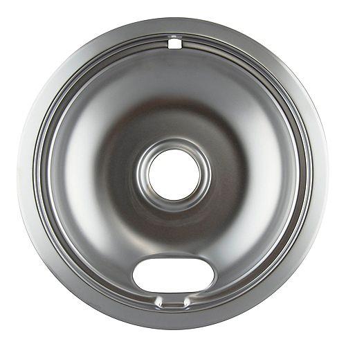 "Range Kleen 8""/Lg Chrome Drip Bowl, Sgl Pk"