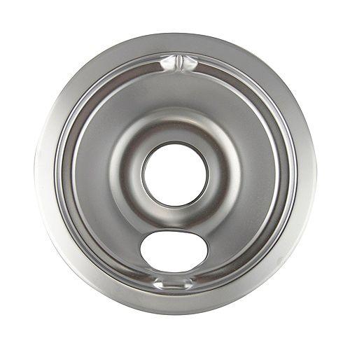 "Range Kleen 6""/Sm Chrome Drip Bowl, Sgl Pk"