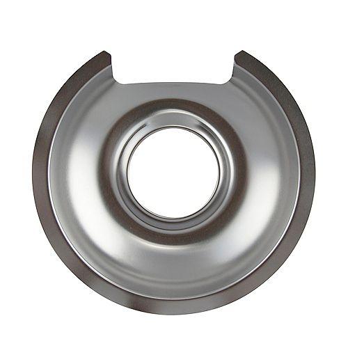 """Range Kleen 6""""/Sm Chrome Drip Pan, Sgl Pk"""