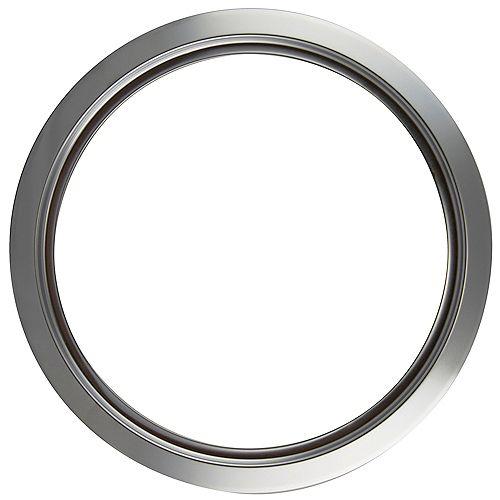 """Range Kleen 8""""/Lg Chrome Trim Ring, Sgl Pk"""