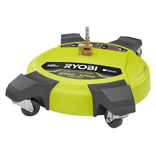 RYOBI 16 in. 3700 PSI Pressure Washer Surface Cleaner for Gas