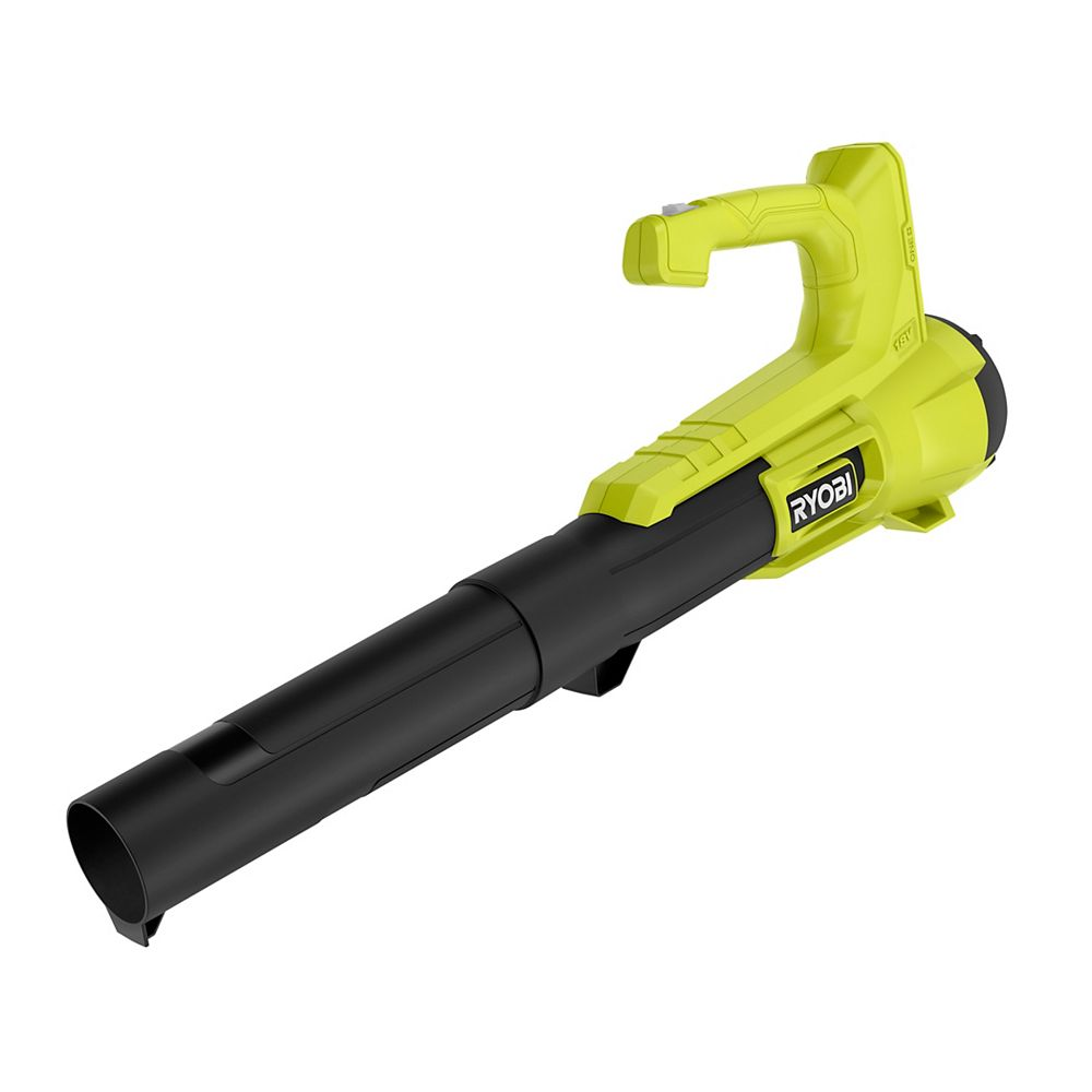 RYOBI 18V ONE+ 100 MPH 250 CFM  Lithium-Ion Cordless Leaf Blower/Sweeper (Tool-Only)