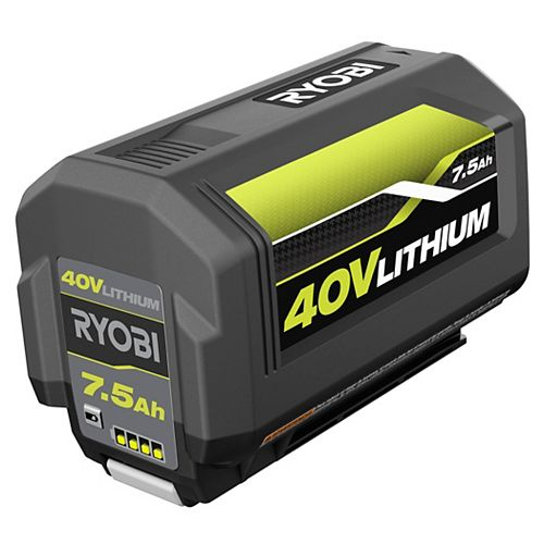 40V 7.5 Ah Lithium-Ion High Capacity Battery