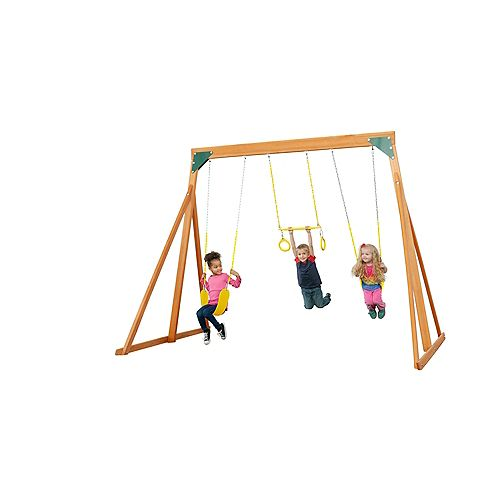 Trailside Wooden Swingset- Jaune Accessories