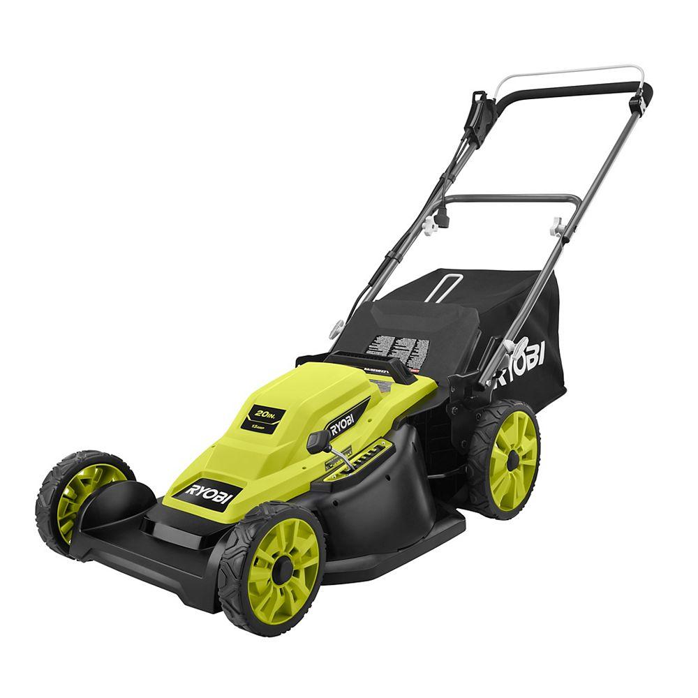 RYOBI 20-inch 13 Amp Corded Walk Behind Push Lawn Mower