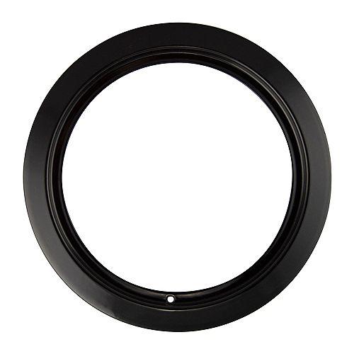 """Range Kleen 6""""/Sm Black Porcelain Trim Ring, Sgl Pk"""