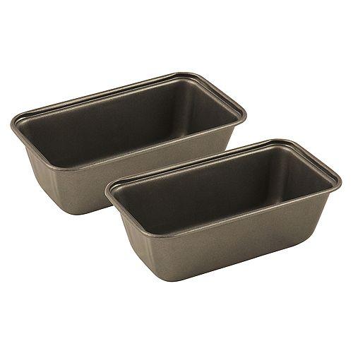 Range Kleen Mini Loaf Pan Non-stick Set of 2
