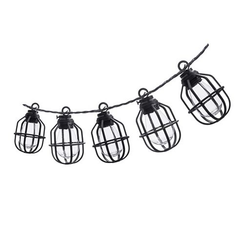 10-Count Exposed Bulb String Lights