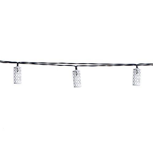 12 Foot Solar String Light Metal