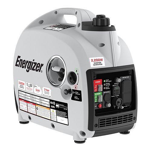 2,200W Quiet, Lightweight, Portable Inverter Generator with Parallel, CARB | Model: eZV2200P
