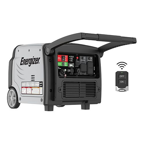 3,500W Quiet Inverter Generator with Remote Start and Parallel | Model: eZV3500P