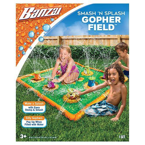 42'' Smash 'N Splash Gopher Field