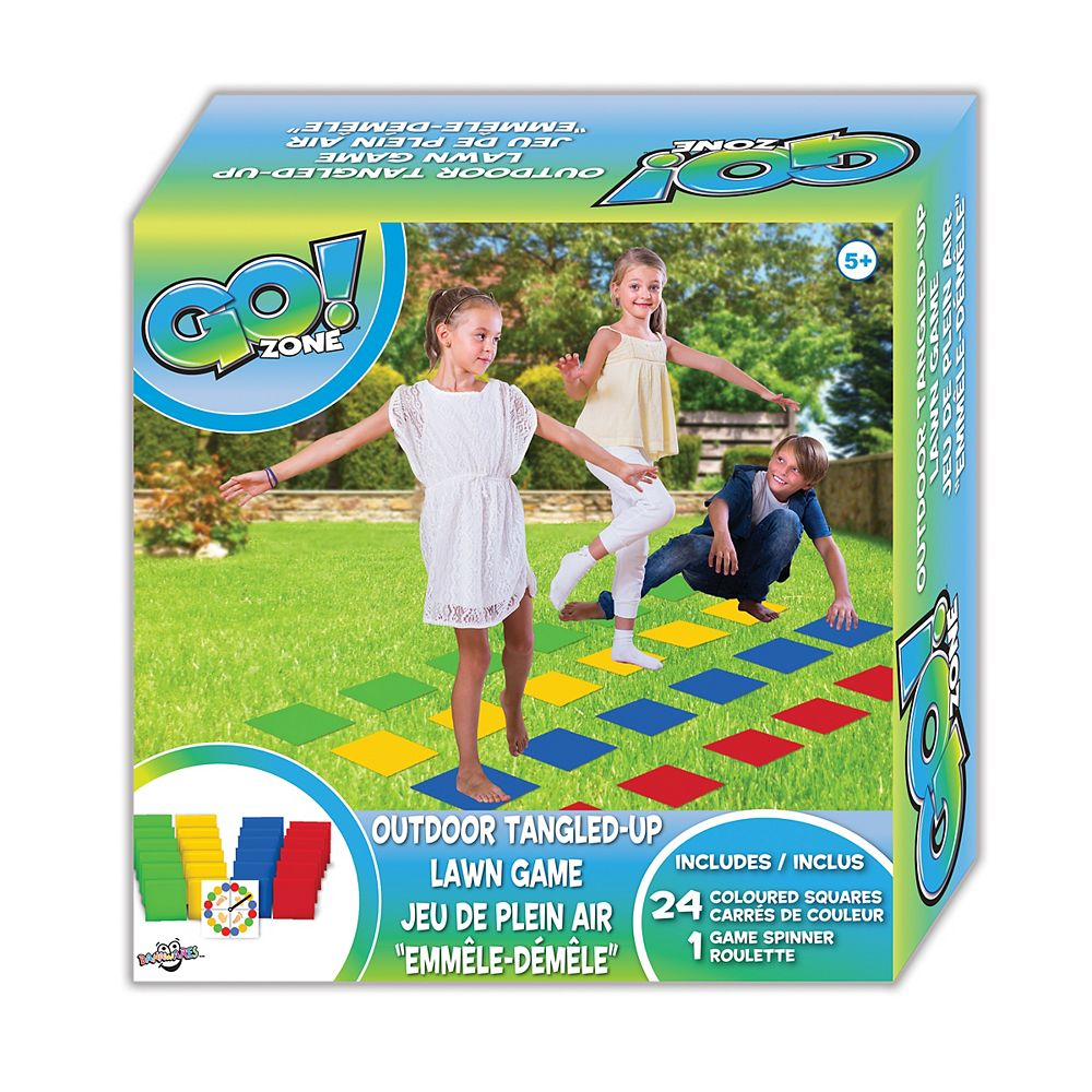 Go! Zone Outdoor Tangled Up Game