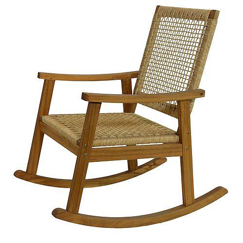 Eurochord Outdoor Rocking Chair