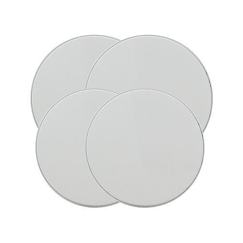 Range Kleen Burner Kovers Round White