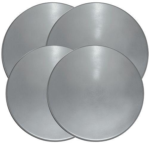 Range Kleen Burner Kovers Round Stainless Steel