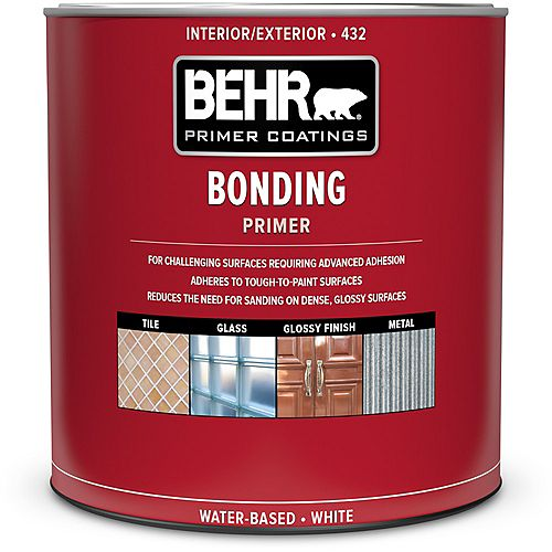 Interior/Exterior Bonding Primer 432, 946mL
